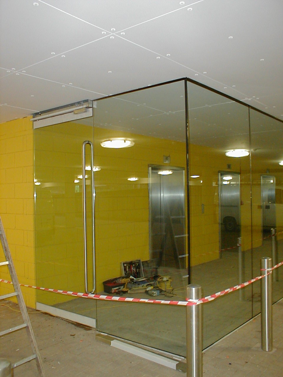 Specialist Fitters Of Glass Lift Lobby In West London